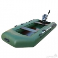 Надувная моторная лодка Бриз 240М