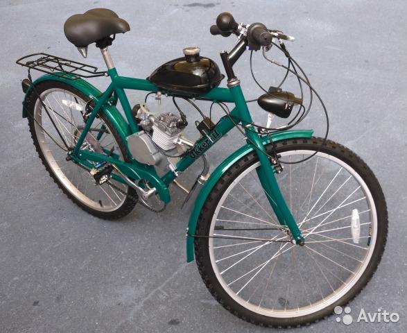 Велосипед с мотором