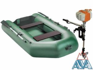 Комплект - Надувная лодка Арчер А-240 + Лодочный мотор GM 2.5HP купить недорого. СКИДКА!