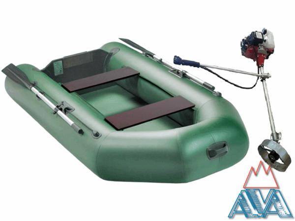 Комплект - Надувная лодка Арчер А-240 + Лодочный мотор Шторм T2.0 купить недорого. СКИДКА!
